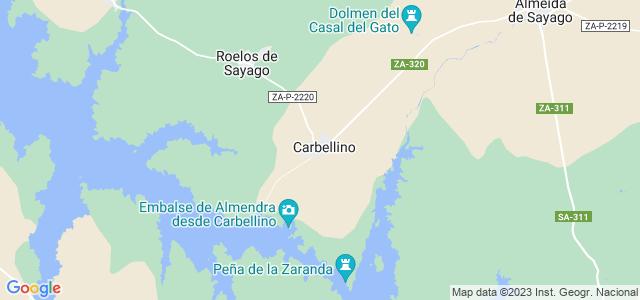 Mapa de Carbellino