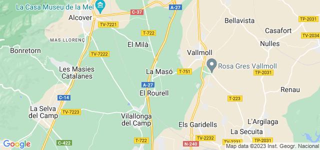 Mapa de Masó