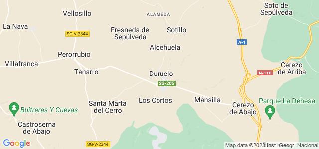 Mapa de Duruelo