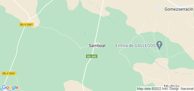 Mapa de Samboal