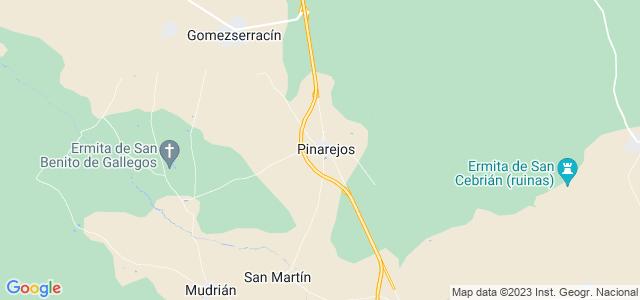 Mapa de Pinarejos