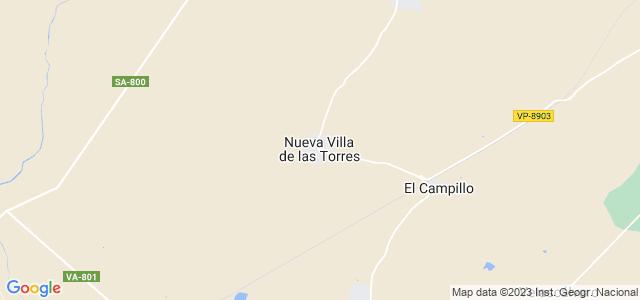 Mapa de Nueva Villa de las Torres