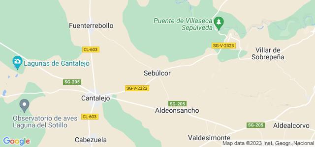 Mapa de Sebúlcor