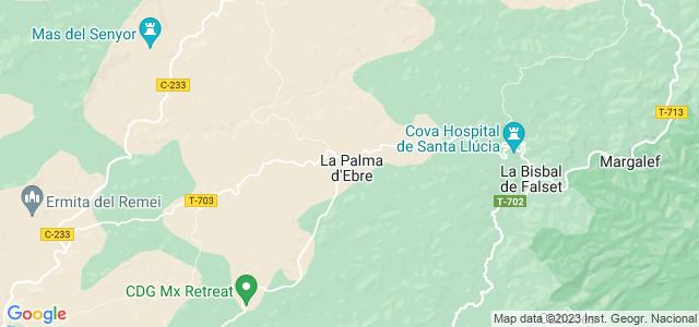 Mapa de Palma dEbre
