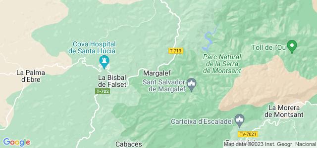 Mapa de Margalef