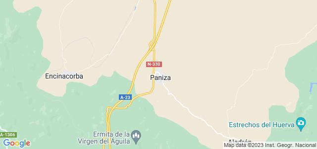 Mapa de Paniza