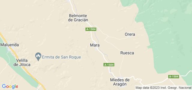 Mapa de Mara