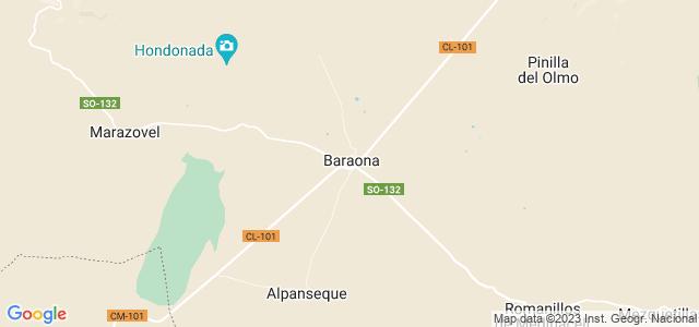 Mapa de Baraona