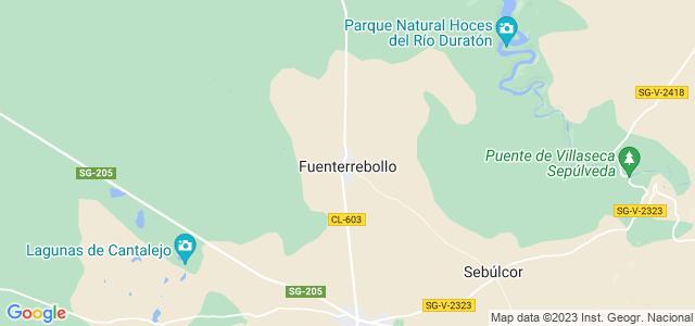 Mapa de Fuenterrebollo