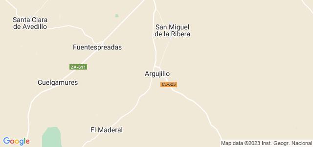 Mapa de Argujillo