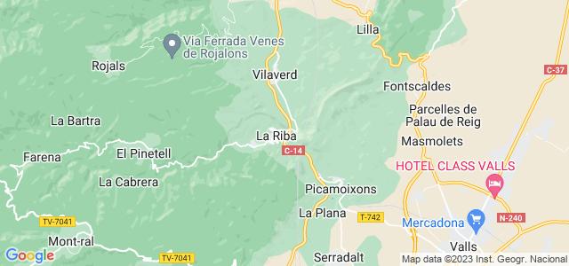 Mapa de Riba