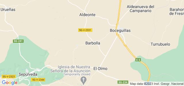 Mapa de Barbolla