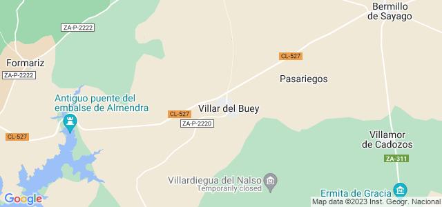Mapa de Villar del Buey
