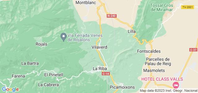 Mapa de Vilaverd