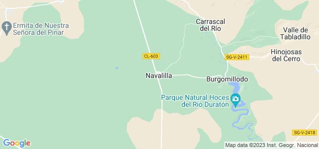 Mapa de Navalilla