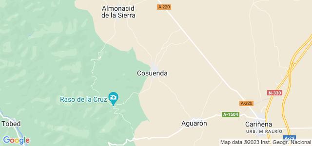 Mapa de Cosuenda