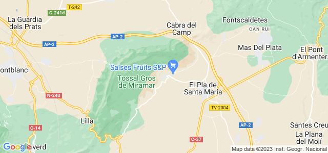 Mapa de Figuerola del Camp