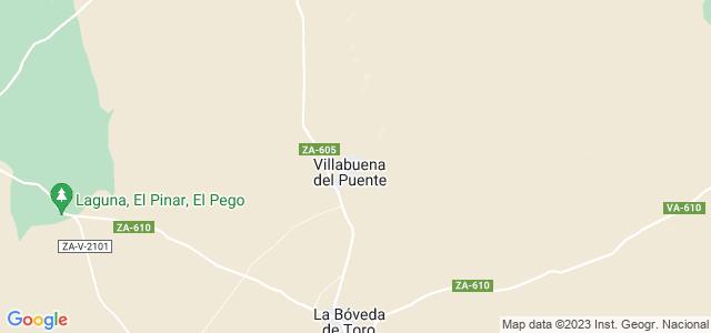 Mapa de Villabuena del Puente