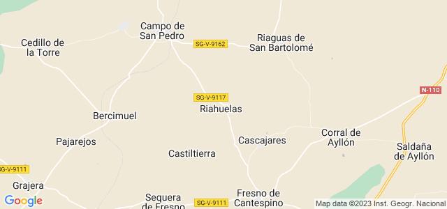 Mapa de Mozoncillo