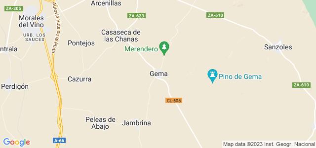 Mapa de Gema