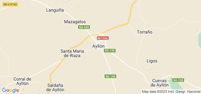Mapa de Ayllón