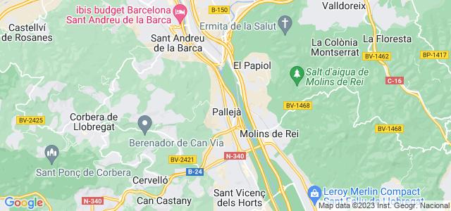 Mapa de Pallejà