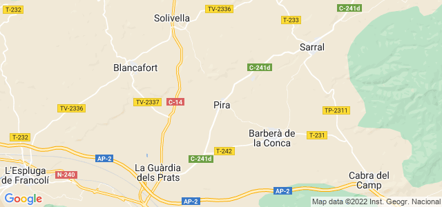Mapa de Pira