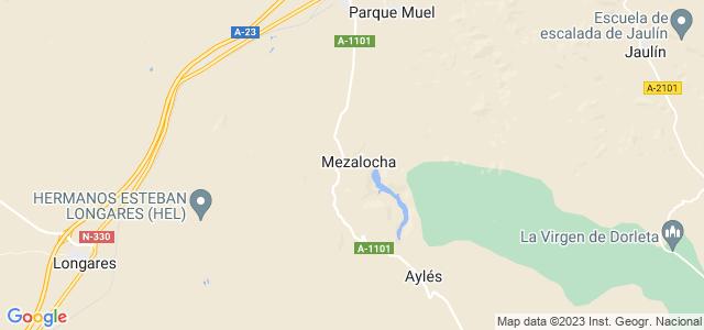 Mapa de Mezalocha