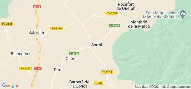 Mapa de Sarral