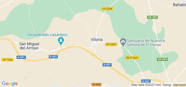 Mapa de Viloria