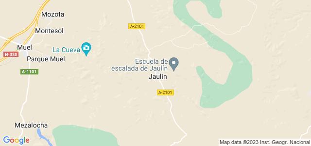 Mapa de Jaulín