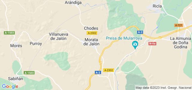 Mapa de Morata de Jalón