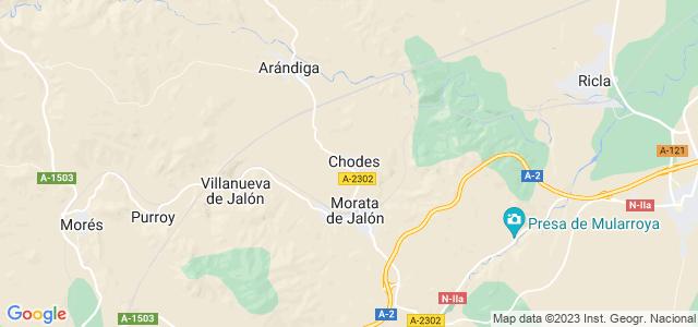 Mapa de Chodes