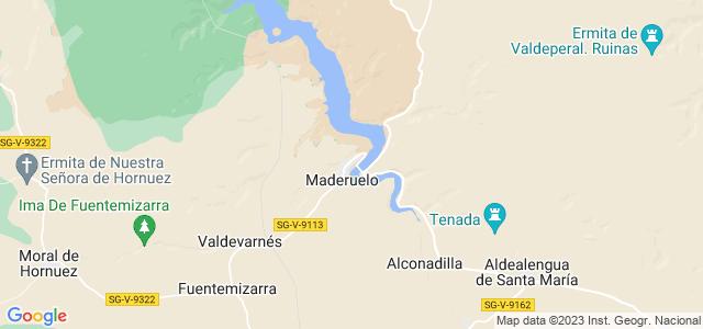 Mapa de Maderuelo