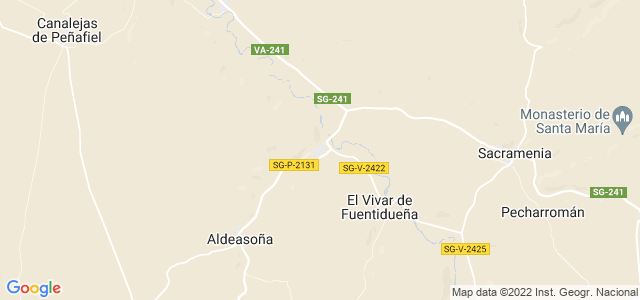 Mapa de Laguna de Contreras