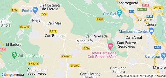 Mapa de Masquefa