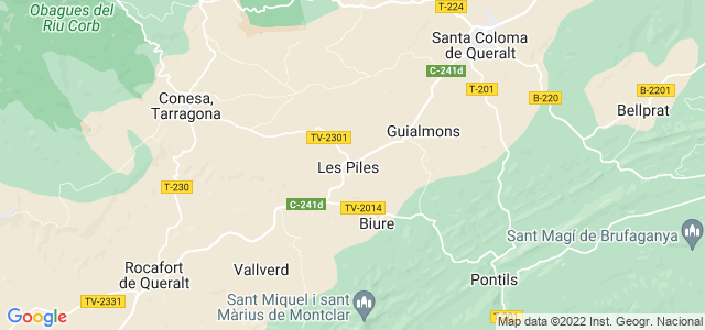 Mapa de Piles