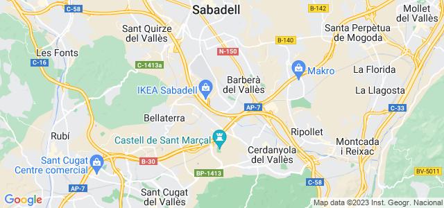 Mapa de Badia del Vallès