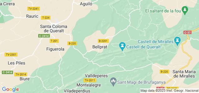 Mapa de Bellprat