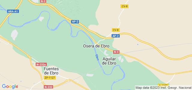 Mapa de Osera de Ebro