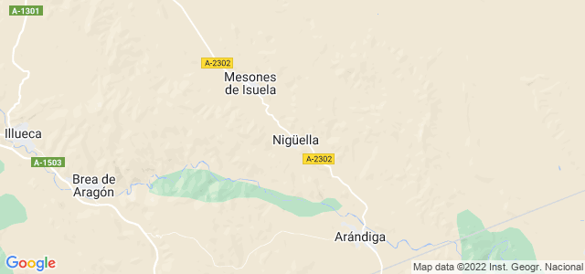 Mapa de Nigüella