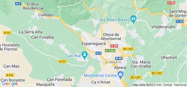Mapa de Esparreguera