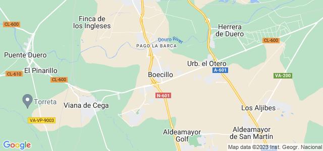 Mapa de Boecillo