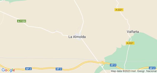 Mapa de Almolda