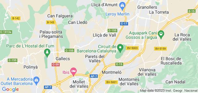 Mapa de Parets del Vallès