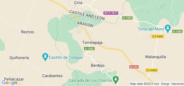 Mapa de Torrelapaja
