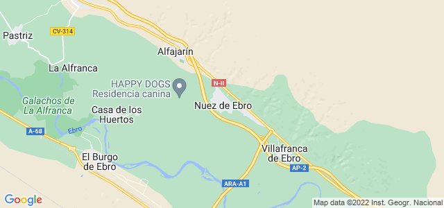 Mapa de Nuez de Ebro