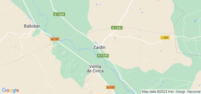 Mapa de Zaidín
