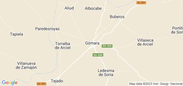 Mapa de Gómara