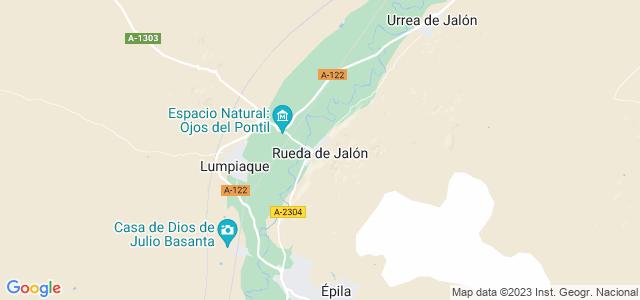 Mapa de Rueda de Jalón